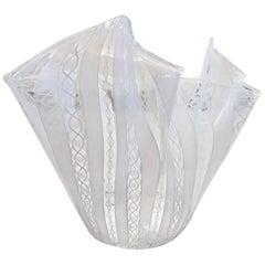 """Venini Murano Handkerchief """"Fazzoletto"""" Vase"""