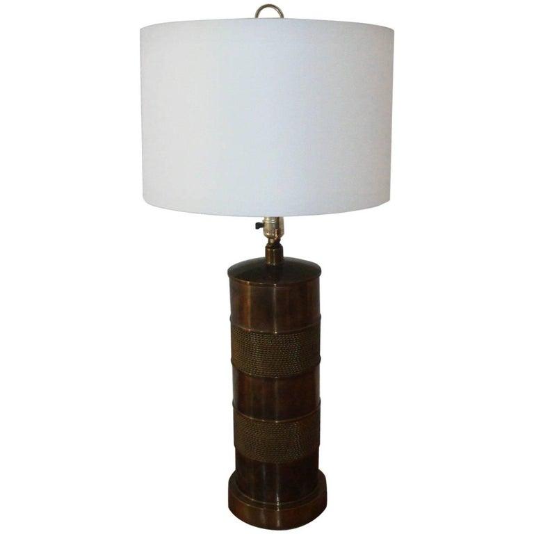 Paul Hansen Brass Lamp
