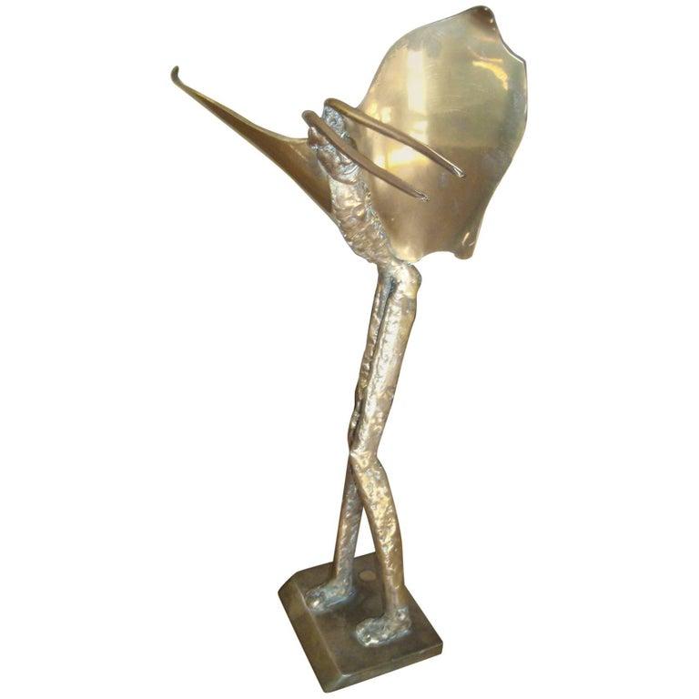 McLean 1980 Bronze Fantasy Sculpture