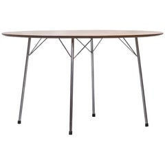 Scandinavian Modern Teak Dining Table by Arne Jacobsen for Fritz Hansen, 1963