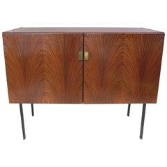 Fristho Elegant Rosewood Cabinet, Netherlands, 1960s