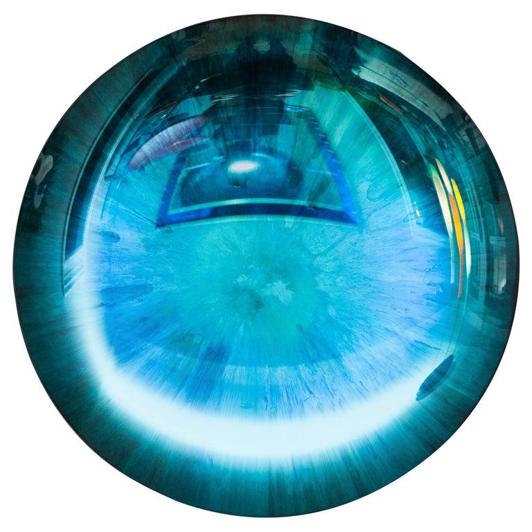 Concave Mirror Object by Christophe Gaignon, France 2017, diameter 87 cm For Sale