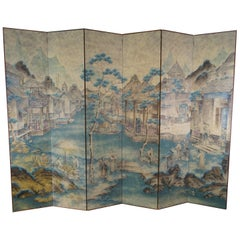 Late 18th to Early 19th Century Chinese Screen