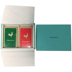 Vintage Tiffany & Co. Playing Cards Game Set