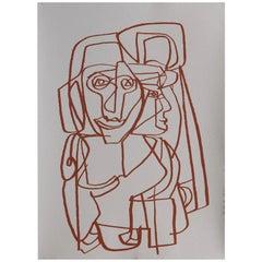 Contemporary Drawing, A Su Sombra by Gabriela Valenzuela-Hirsch