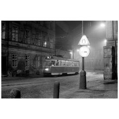 """Streetcar in Prague, 1977"" by Gregg Felsen"