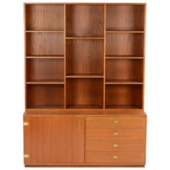 Peter Løvig Nielsen Bookcase and Credenza Wall Unit
