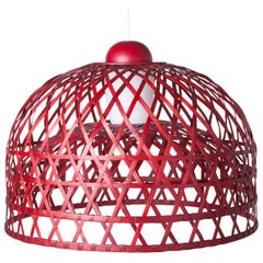 Moooi Emperor Suspension Lamp in Small, Medium or Large and Black or Red