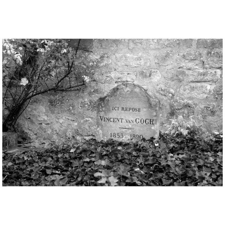 """Gravesite of Vincent Van Gogh, 1980s"" by Gregg Felsen For Sale"