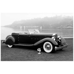 """1934 Packard 1108 Twelve Dietrich Convertible Victoria"" by Gregg Felsen"