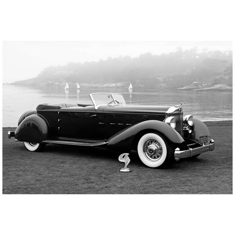 """1934 Packard 1108 Twelve Dietrich Convertible Victoria"" by Gregg Felsen For Sale"