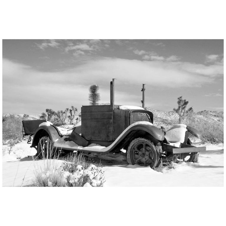 """Old Truck at Joshua Tree National Park"" Print by Gregg Felsen For Sale"