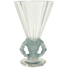 "Rene Lalique Vase ""Faune"""