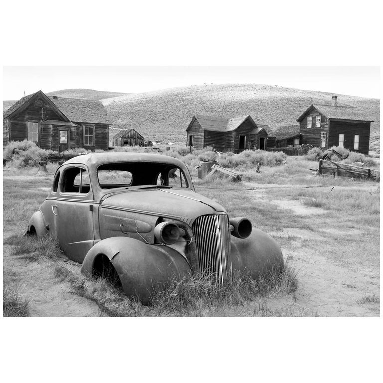 """1937 Chevrolet Coupe at Bodie State Historical Park"" Print by Gregg Felsen For Sale"