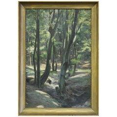 Woodland Glade Signed Robert Kaursky