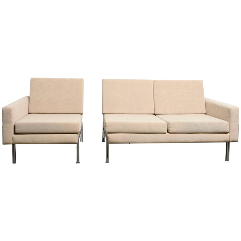 Mid Century Modern Modular Sectional Sofa By Florence Knoll 1960s For