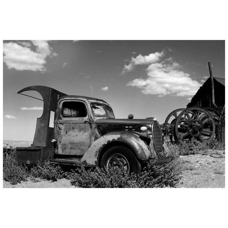"""Old Truck at Gold King Mine and Ghost Town"" by Gregg Felsen For Sale"