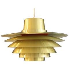 Extra Large Verona Pendent Light by Svend Middelboe for Nordisk Solar