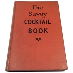 Art Deco Savoy Cocktail Book Very Rare