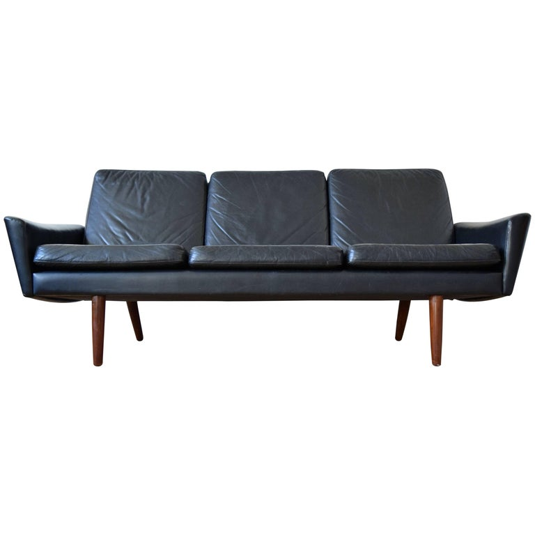 Danish Vintage Midcentury Sofa, 1960s For Sale