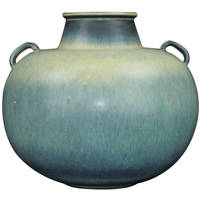 Rare 1940s Swedish Vase by Gunnar Nylund for Rörstrand
