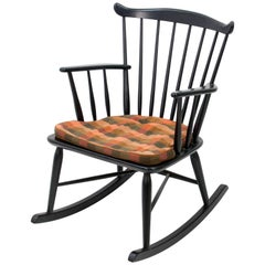 Borge Mogensen Rocking Chair for FDB Møbler, 1950s