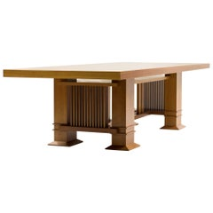 Monumental Frank Lloyd Wright 605 Allen Table by Cassina