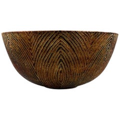 Axel Salto, Plained Style, Royal Copenhagen, Very Large Bowl