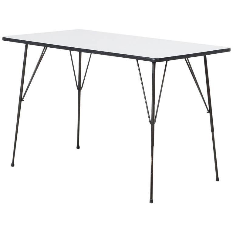 Rudolf Wolf Small Dining Table /Desk, Elsrijk, Netherlands, 1950s