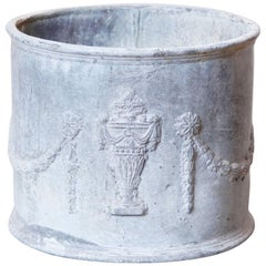 Neoclassical Lead Planter