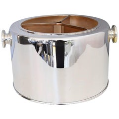 Silver Plated Italian Ice Bucket and Wine Cooler, 1970s