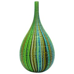 Mokume Inciso Meadow Teardrop Vase by Siemon & Salazar