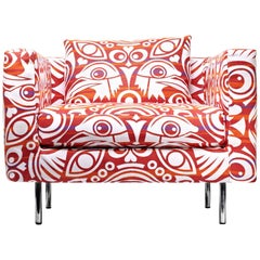 Moooi Boutique Eyes of Strangers Armchair by Marcel Wanders
