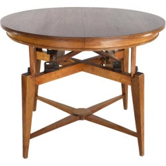 1950s Marcel Gascoin Midcentury Adjustable Table