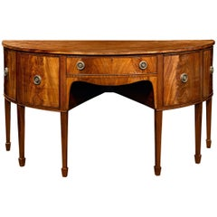 George III English Mahogany Sideboard
