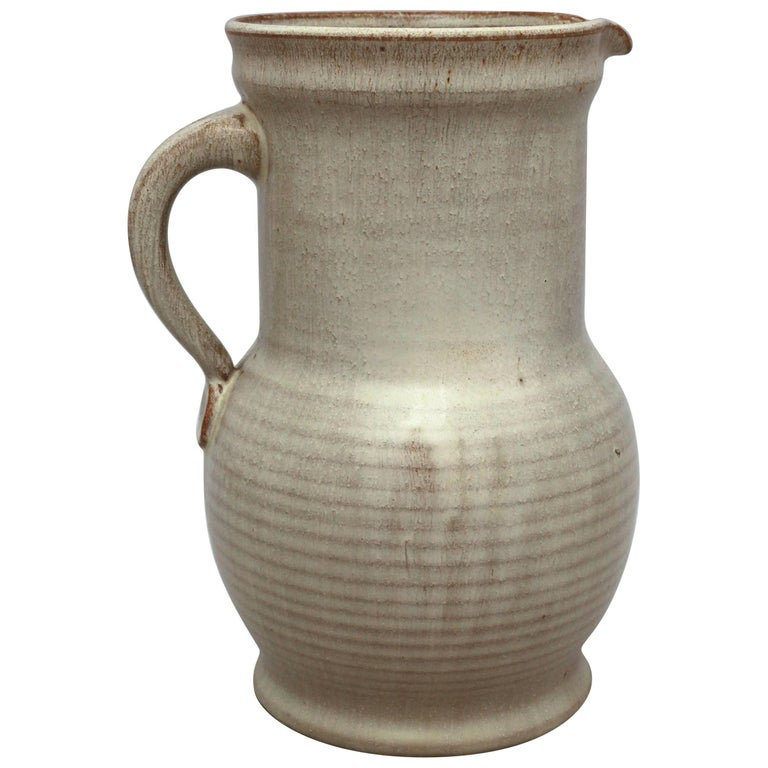 Art Deco Pitcher Vase By Wc Brouwer For Sale At 1stdibs