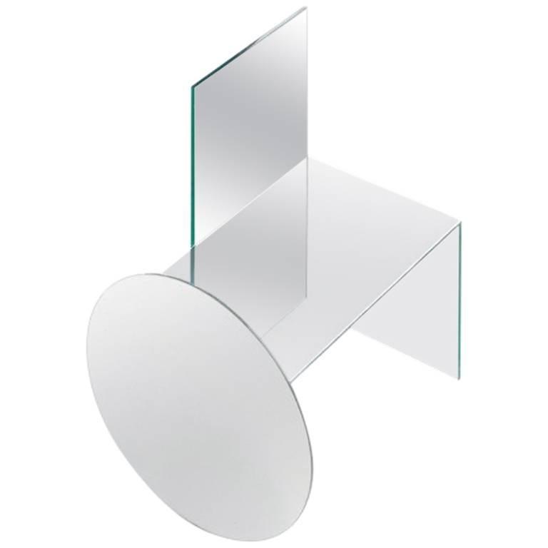 Glass Chair by Guillermo Santomá, Barcelona, 2017