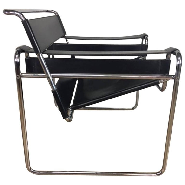 Authentic Marcel Breuer Wassily Lounge Chair for Stendig