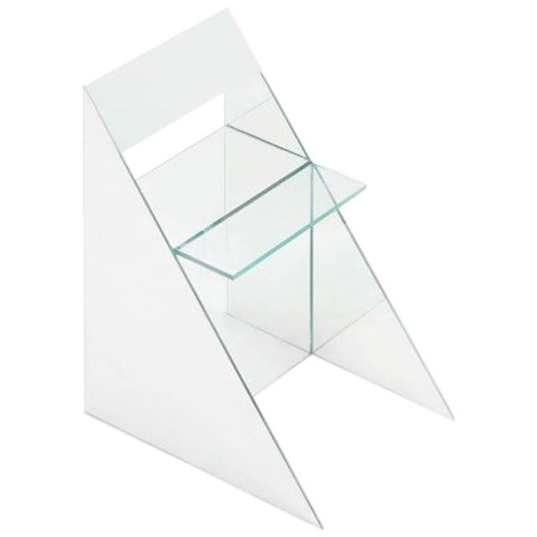 Glass Chair by Guillermo Santomá, Barcelona, 2016