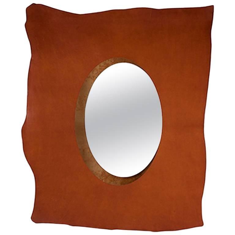 """""""Vaca Colgada"""" Mirror Designed by Nestor Perkal for Oscar Maschera"""