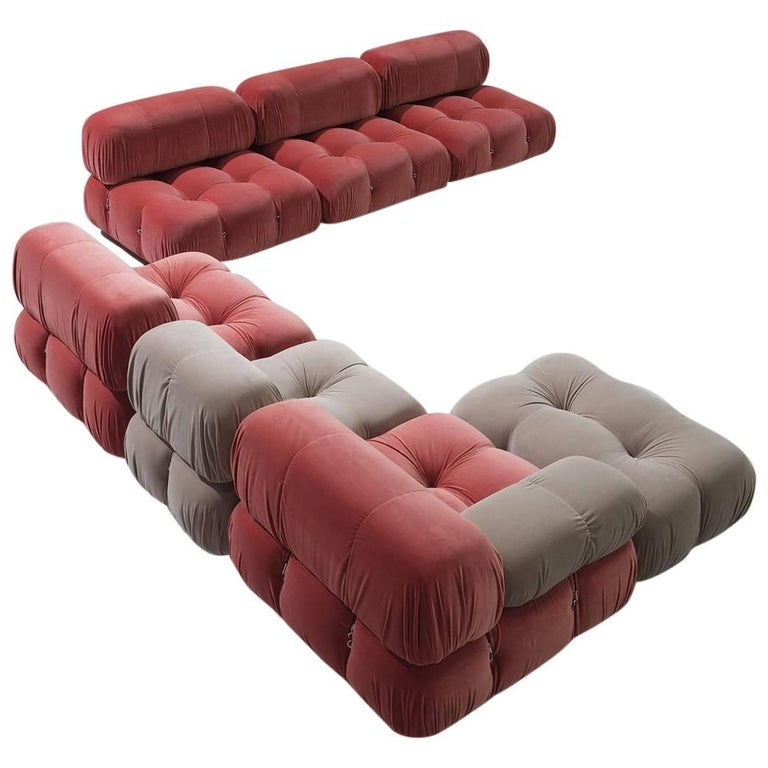 Customizable Mario Bellini Modular 'Camaleonda' Sofa