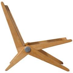 Pierre Jeanneret 'Scissor Chair' for Knoll International, USA