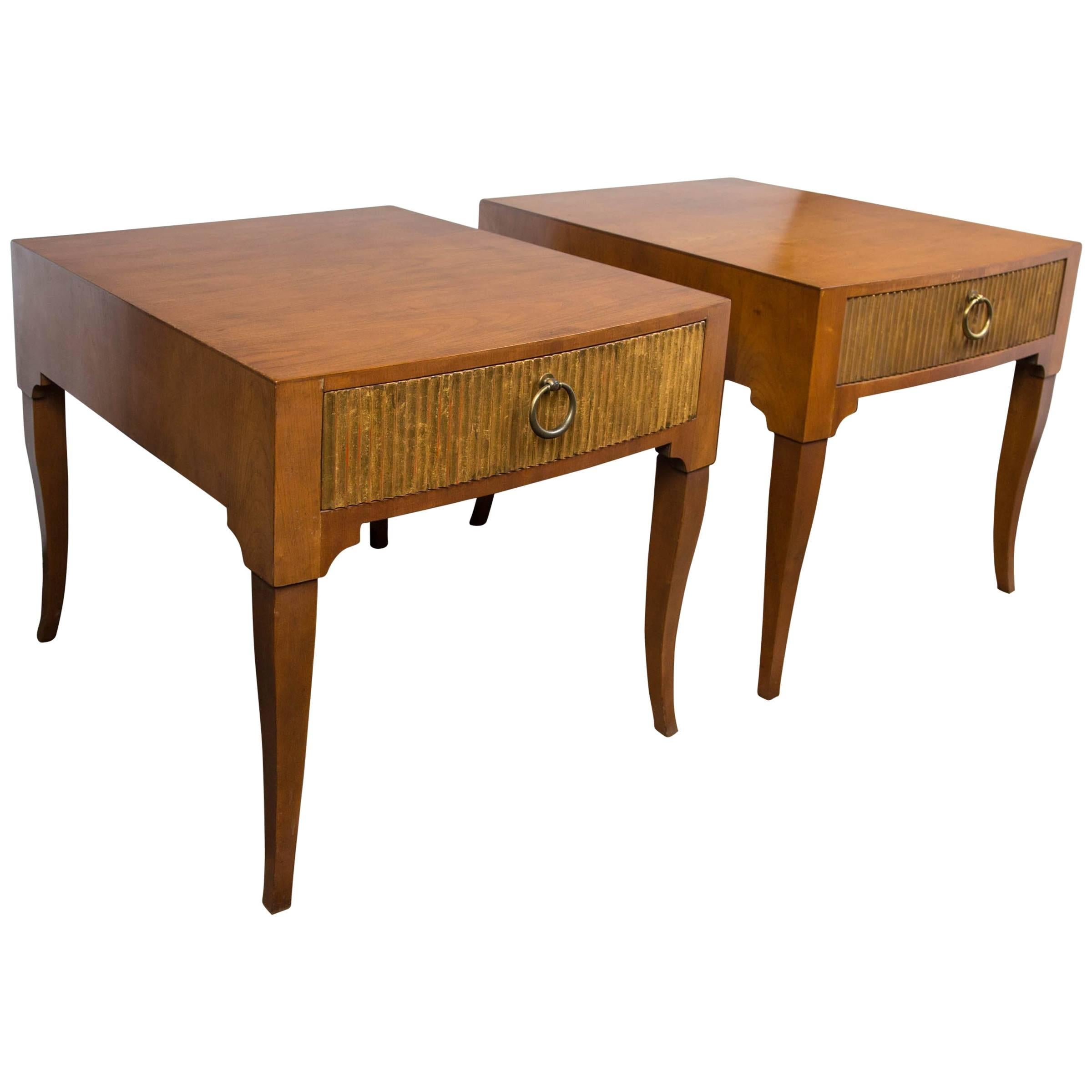 Mid-Century Modern End Tables by Baker