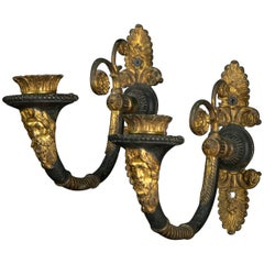 Pair of 19th Century One Light French Empire Sconces