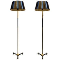 Pair of Mid-Century Spanish Floor Lamps