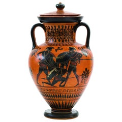 Attic Black-Figured Amphora, 530–500 BC