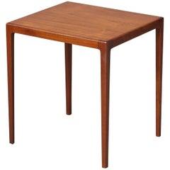 Midcentury Danish Teak Side Table by Eske Kristensen for Ludvig Pontoppidan