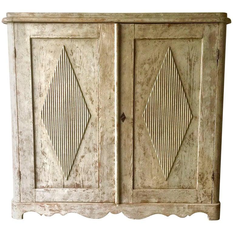 19th Century Swedish Gustavian Sideboard For Sale