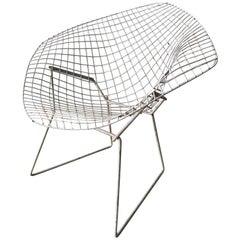 """Original Harry Bertoia """"Diamond"""" Chair"""