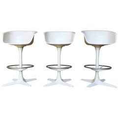 20th Century Barstools Set of Three